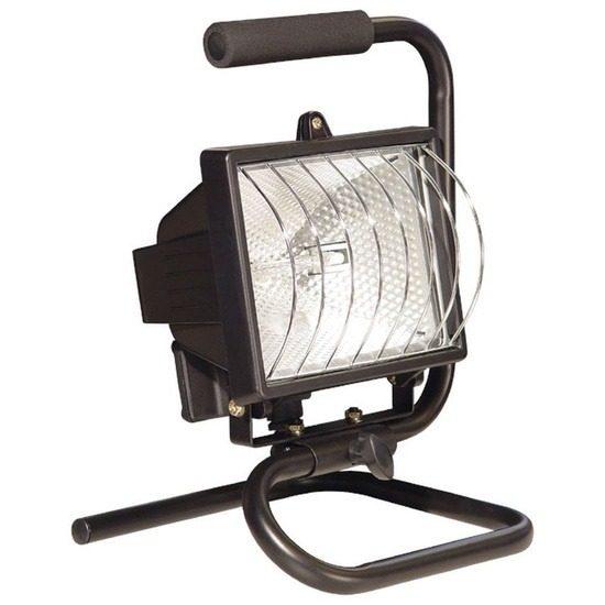 Prožektor käepidemega - Halogeenlamp