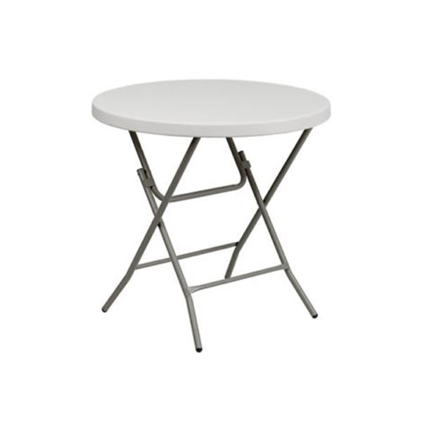 Ümmargune laud Q80 cm -