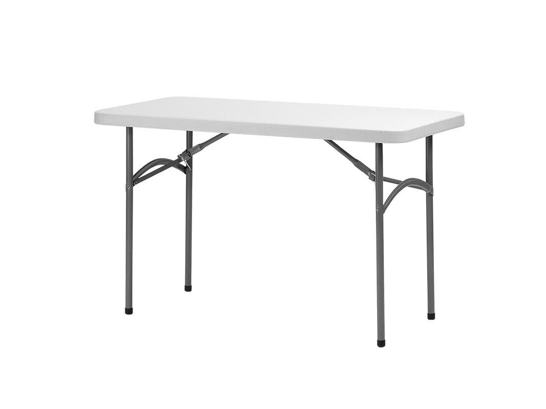 Kokkupandav laud 122 x 60 cm, kokkupandavad lauad, kokkupandav mööbel, plastikmööbel